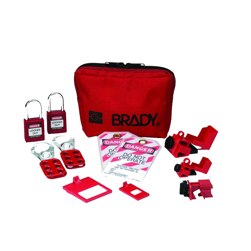 Brady Electricians Mini Lockout Kit 848825 - image is indicative only