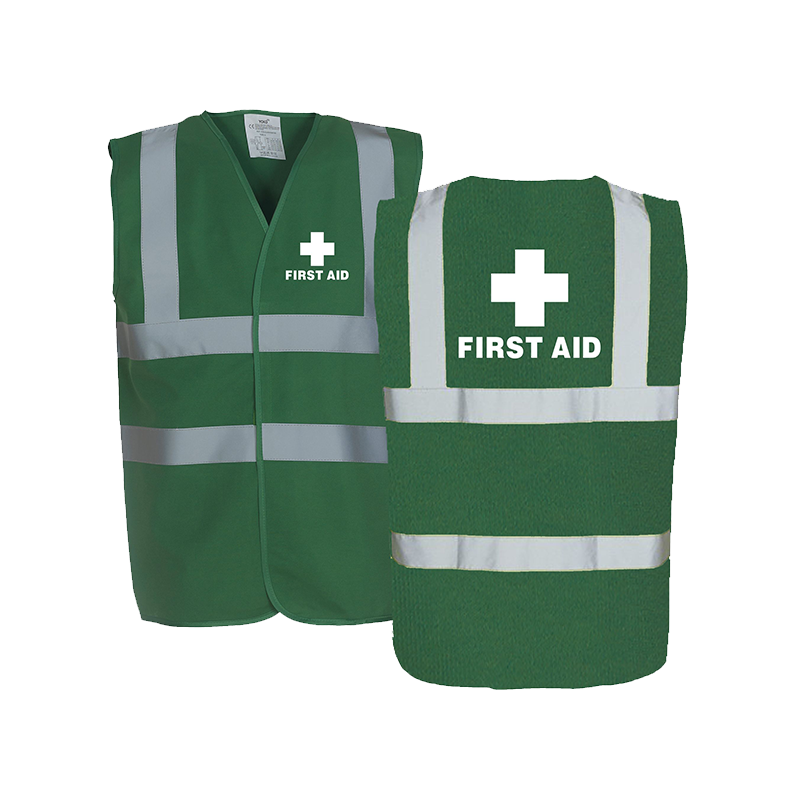 Brady First Aid Safety Vest