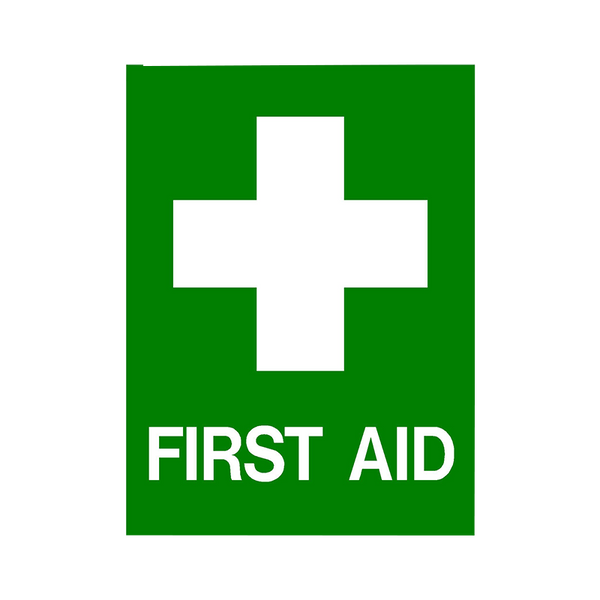 Brady First Aid Sign Range First Aid