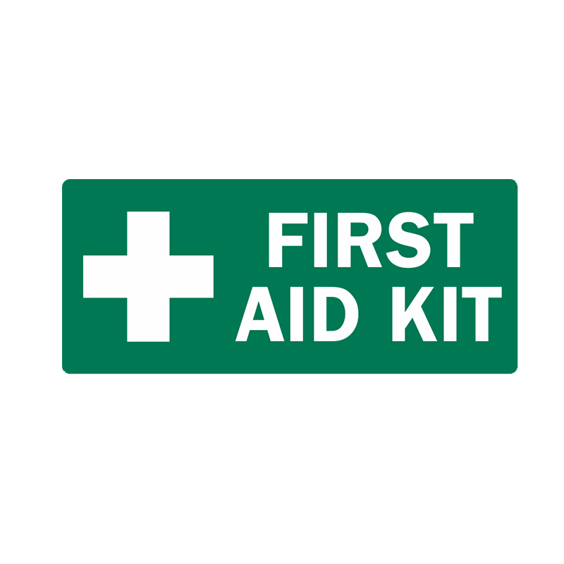 Brady First Aid Sign Range First Aid Kit