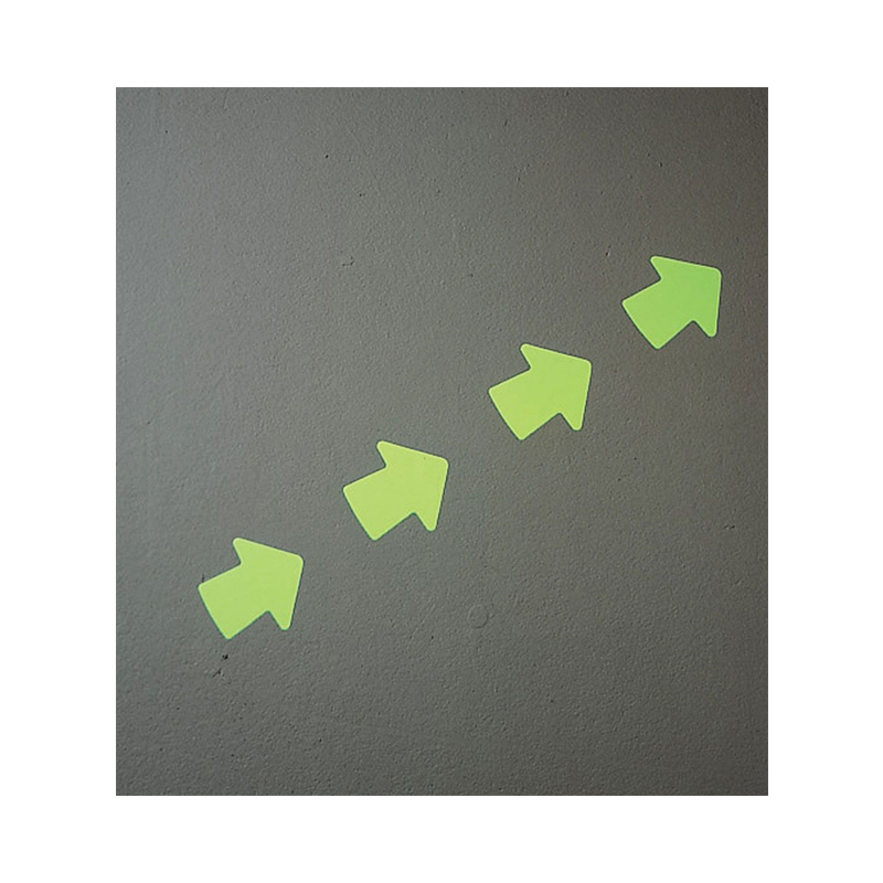 Brady Glow in the Dark Arrows (Roll of 100) 93275