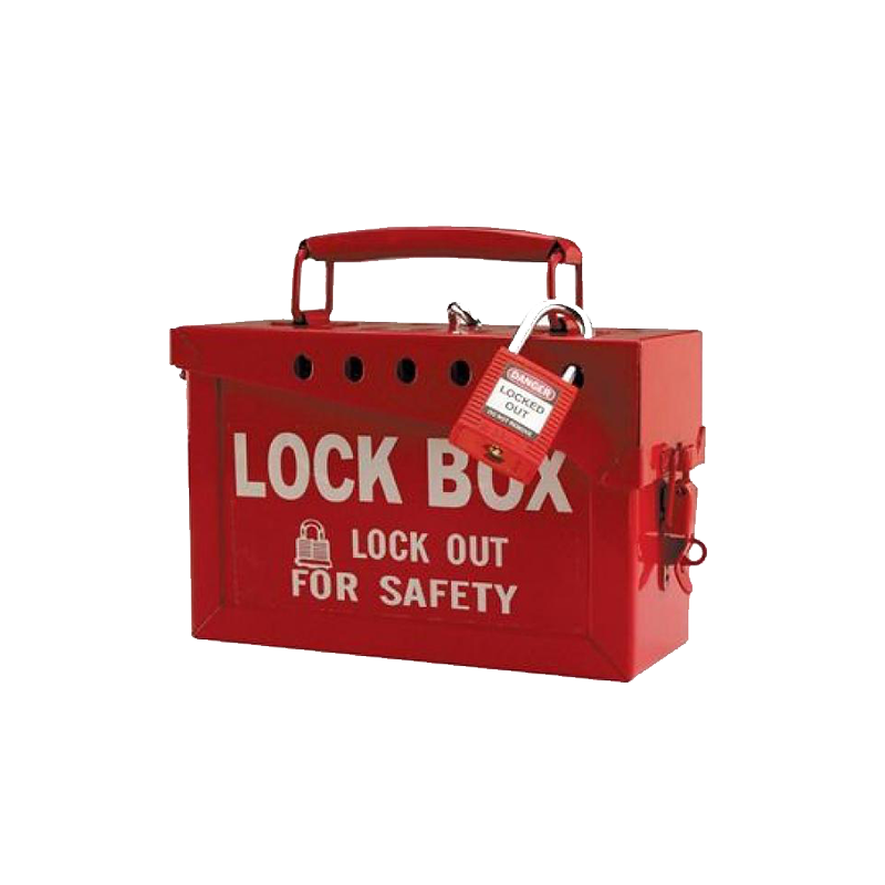Brady Group Lock Box 65699 Red