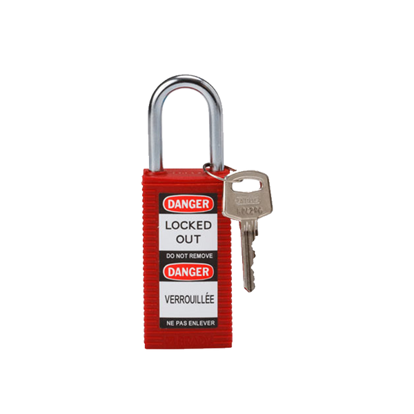 Brady Safety Padlock Long Body Range