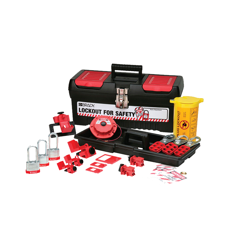 Brady Personal Electrical Lockout Kit