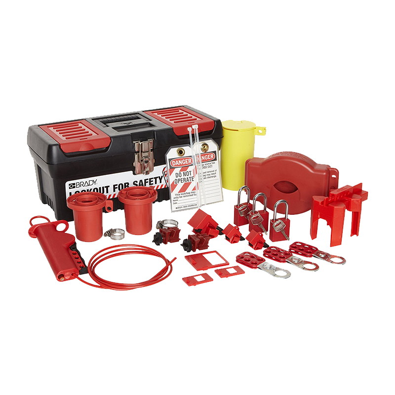 Brady Personal Valve and Electrical Lockout Kit 105955