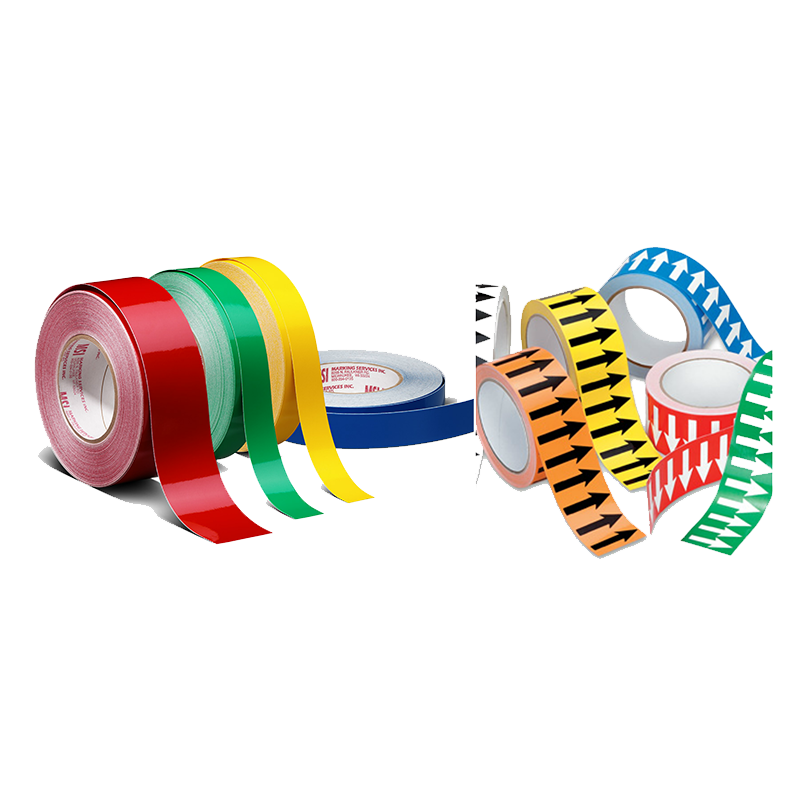 Brady Pipe Banding Tape Range - Solid Colour and Arrow Tapes