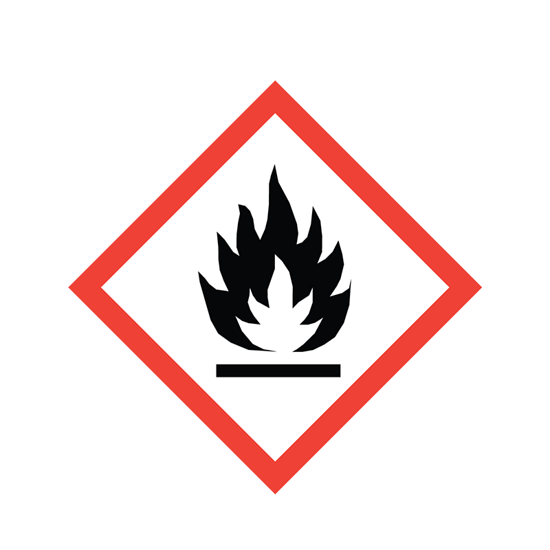 Brady Pre-Printed GHS Pictogram Label - Flammable