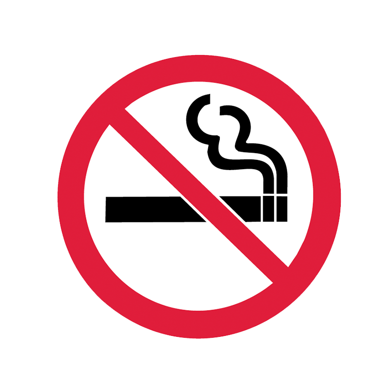 Brady Prohibition Pictograms: No Smoking