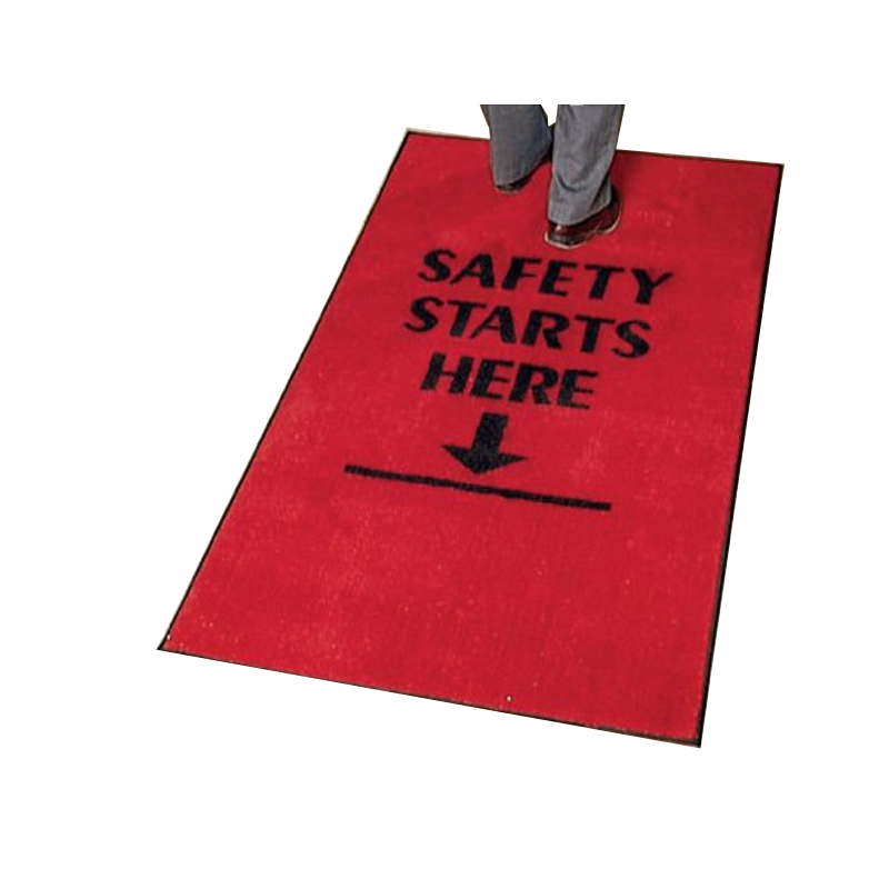 Brady Safety Slogan Carpet Mats