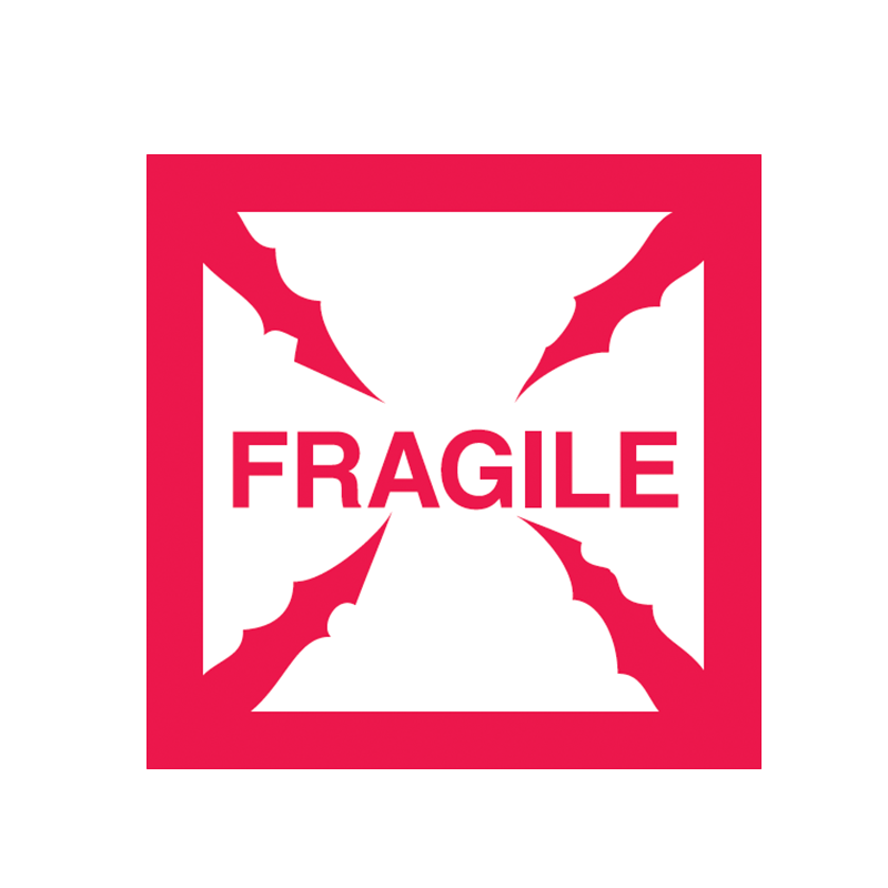 Brady Shipping Label Fragile 500 per Roll