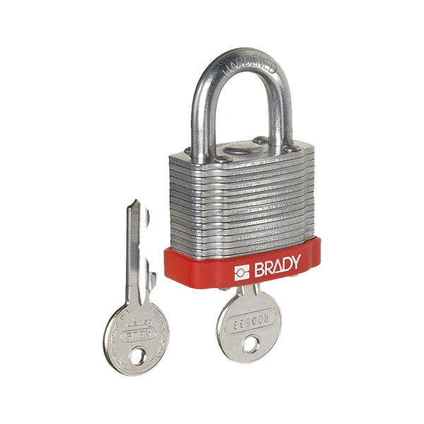 Brady Steel Padlock Range 20mm shackle