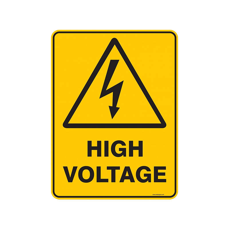 Brady Warning Sign Range High Voltage