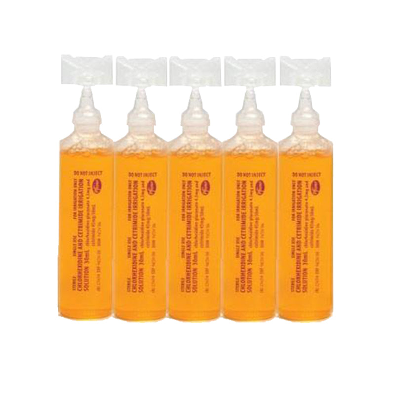 Chlorhexidine and Cetrimide Antiseptic 30ml Pod
