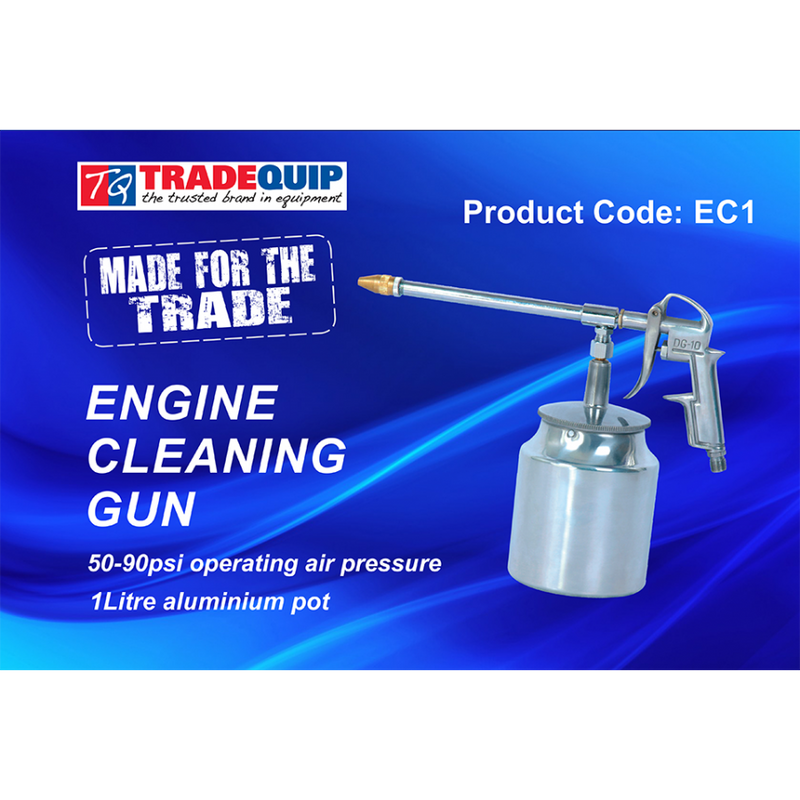 Borum Engine Cleaning/Degreasing Gun with brass nozzle EC1