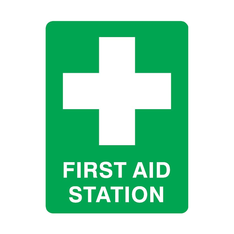 GO First Aid Signs - First Aid Station