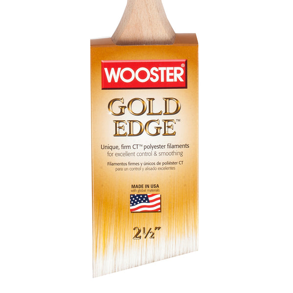 Wooster Gold Edge Angle Sash Brush