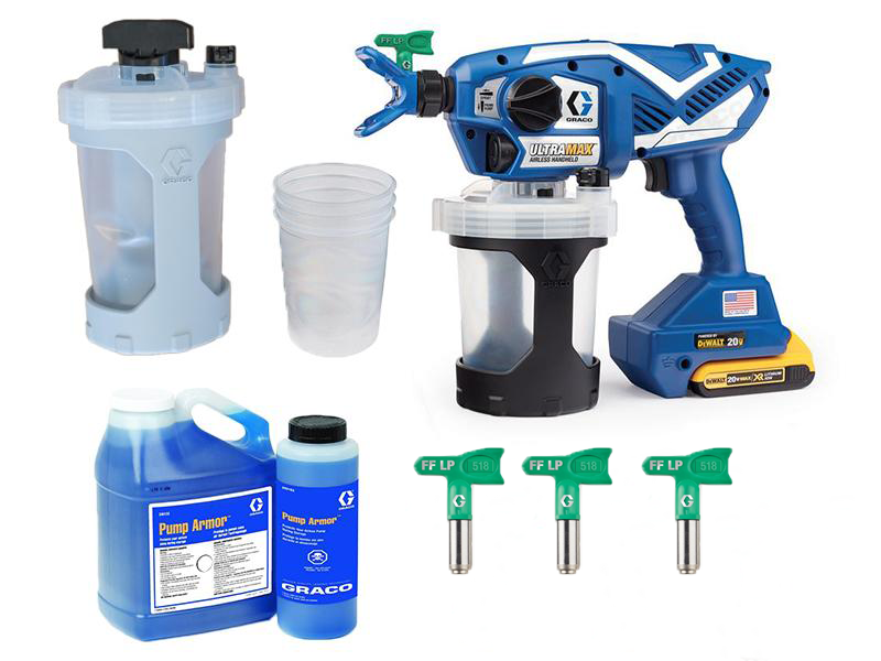 GRACO Ultra Max Cordless Handheld Airless Sprayer 18V DC KIT