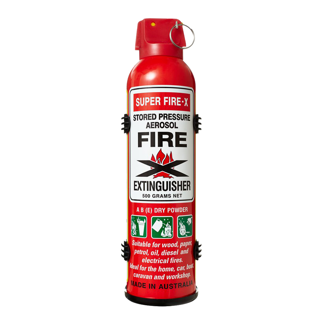 Fire Extinguishers - Super Fire-X Portable