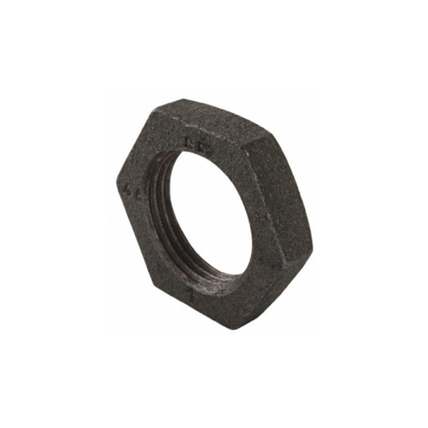 GO Black Steel Back Nut Range Scr BSP BS EN 10241