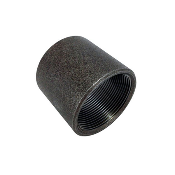 GO Black Steel Socket (Coupling) Range Scr BSP BS EN 10241