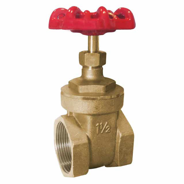 GO Brass Gate Valve Range General Purpose Scr BSP