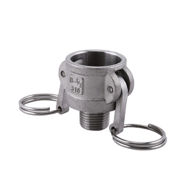 GO Camlock Fitting Type B Stainless Female Camlock x Male BSP