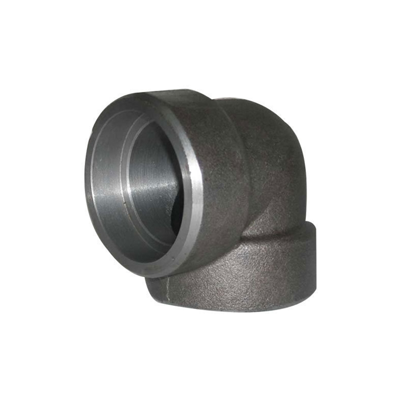 GO Carbon Steel Elbow 90 Deg 3000lb Socket Weld A105 ASME B16.11