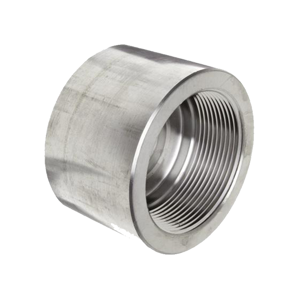 GO Carbon Steel or Galvanised Cap 3000lb Scr NPT or BSP A105 ASME B16.11