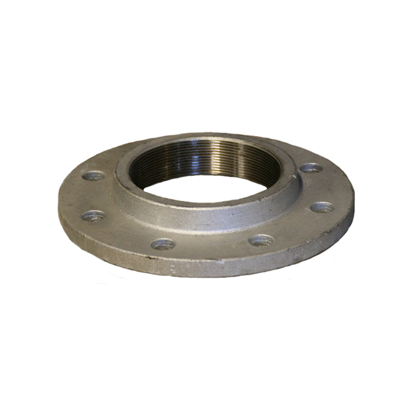 GO Flange Range Scr BSP Table E Galvanised Forged Steel BS10