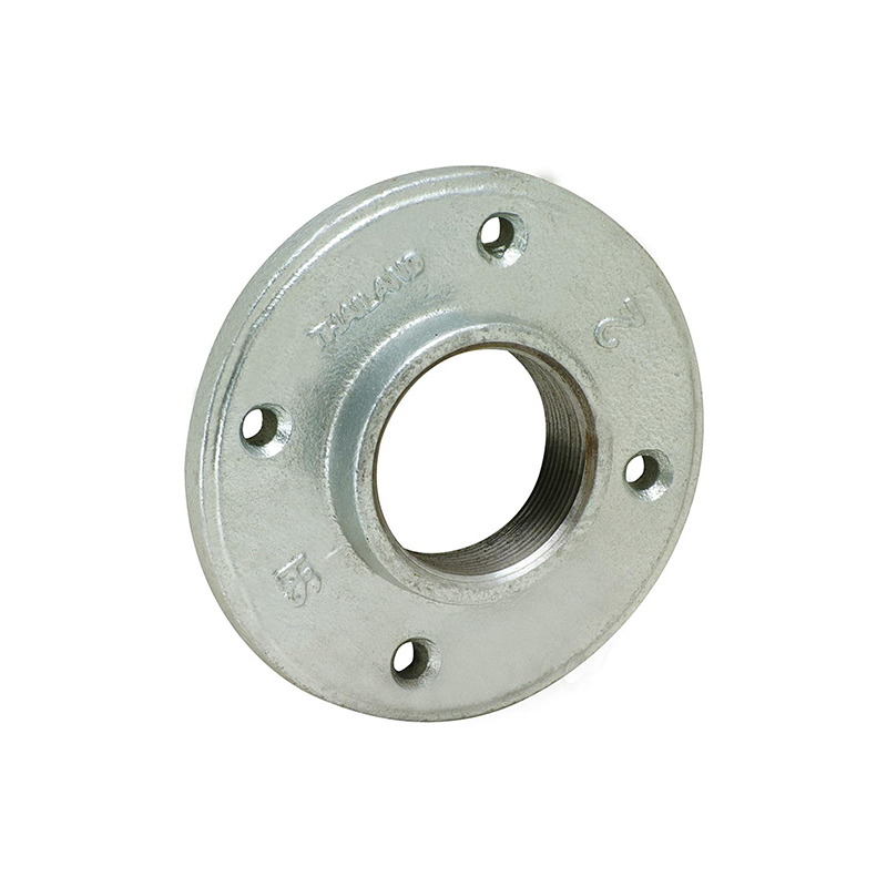 GO Galvanised Malleable Iron Flange Range Scr BSP Drilled Table D BS EN 10242