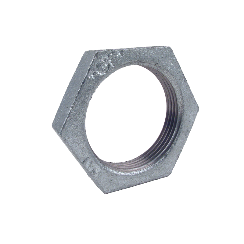 GO Galvanised Steel Back Nut Range Scr BSP BS EN 10241