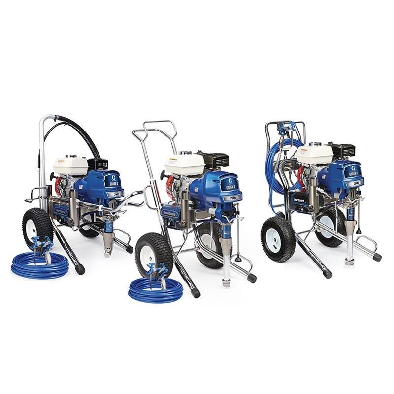 Graco GMAX II Petrol Driven Airless Sprayer Range