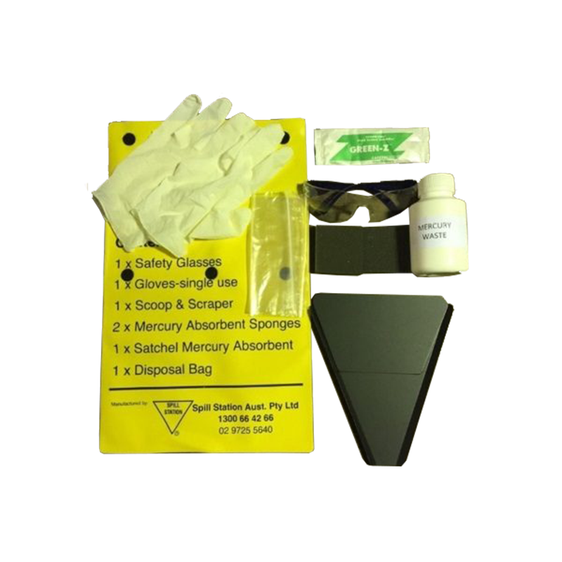 GO Industrial Mercury Spill Kit Pouch ZTSSMER