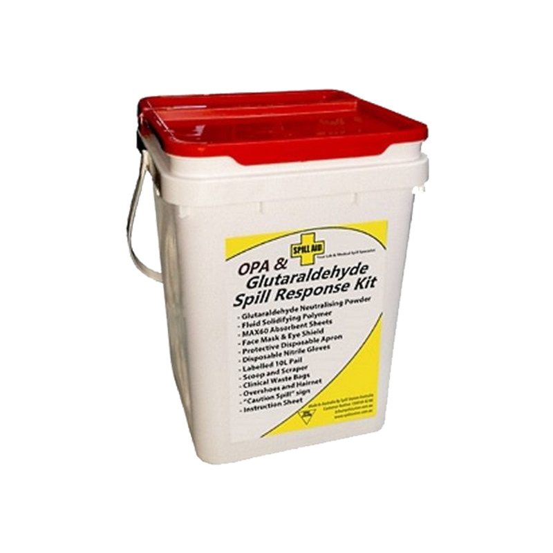 GO Industrial OPA and Glutaraldehyde Spill Response Kit ZTSSGNK