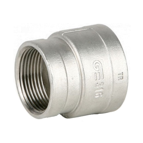 GO Stainless Steel Reducing Socket Range 316 150lb Scr BSP ASTM A351-77