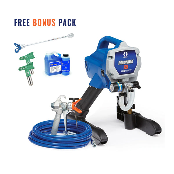 GRACO Airless Paint Spray Package Magnum X5 16W120