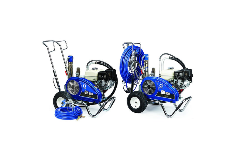GRACO Airless Paint Spray Package GH 300 Petrol Hydraulic Driven Range