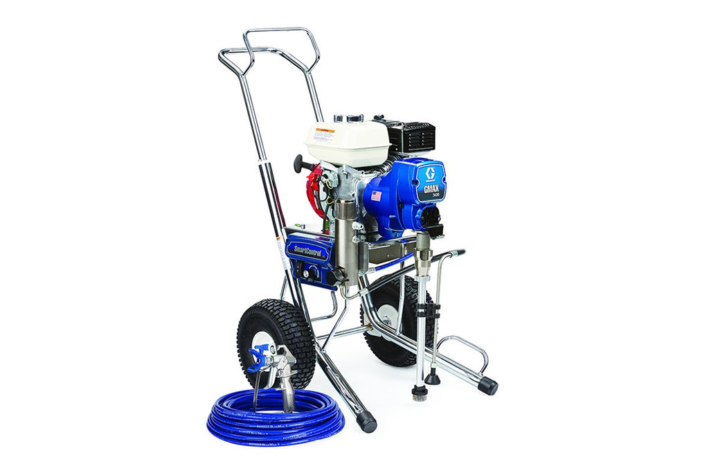 GRACO Airless Paint Spray Package GMAX 3400 Petrol Driven 16W863