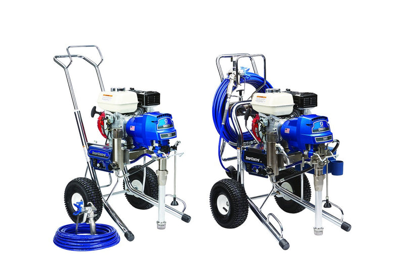 GRACO Airless Paint Spray Package GMAX II 3900 Petrol Driven Range