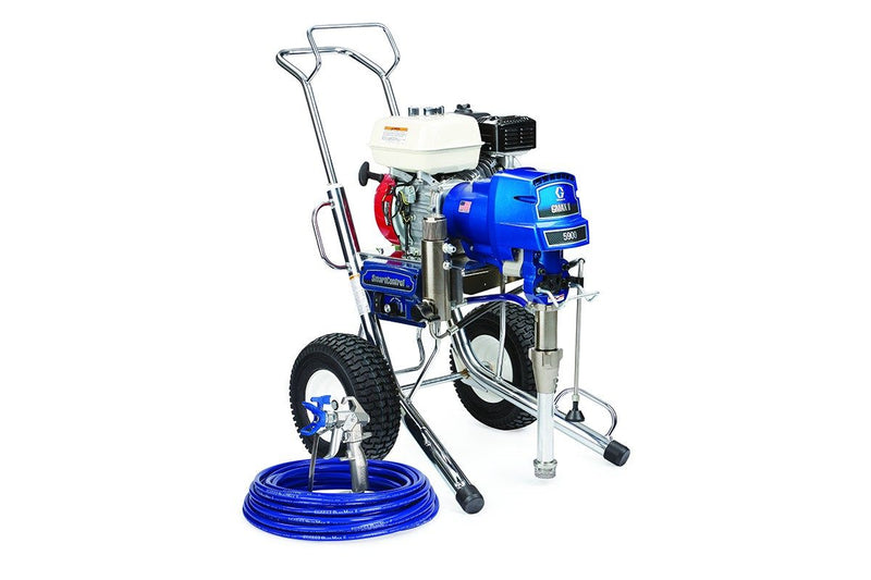 GRACO Airless Paint Spray Package GMAX II 5900 Petrol Driven Range