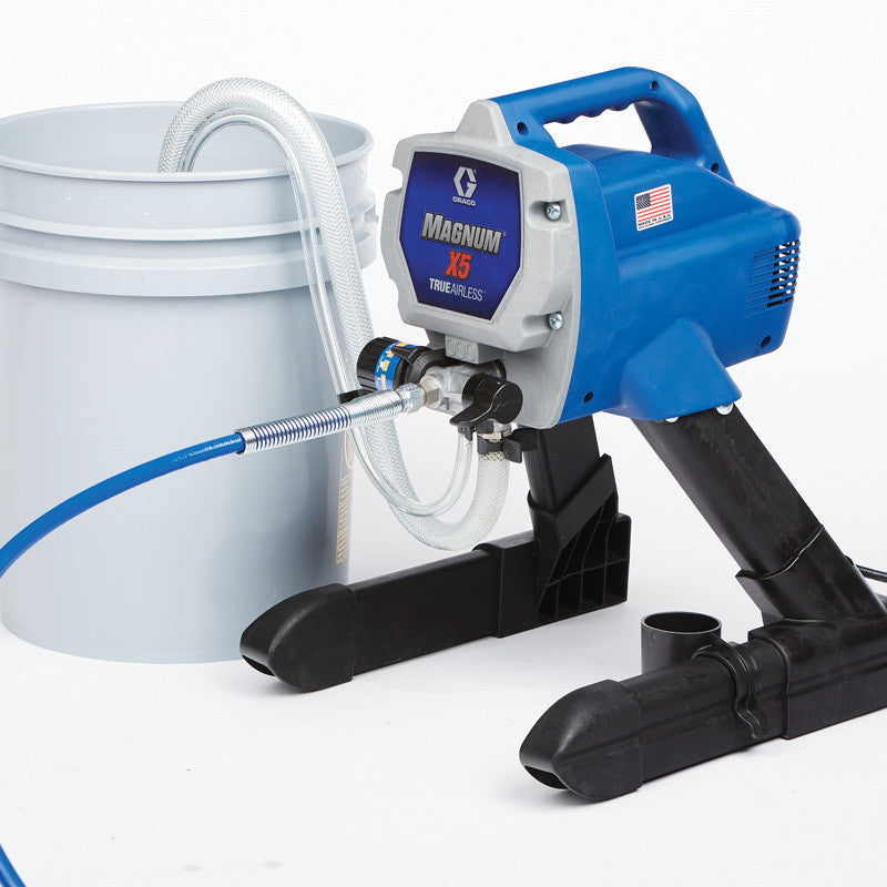 GRACO Airless Paint Spray Package Magnum X5 240V AC 16W120
