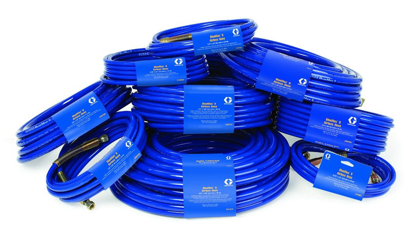 GRACO BlueMax II HP 4000psi Synthetic Braided Airless Spray Hose Range