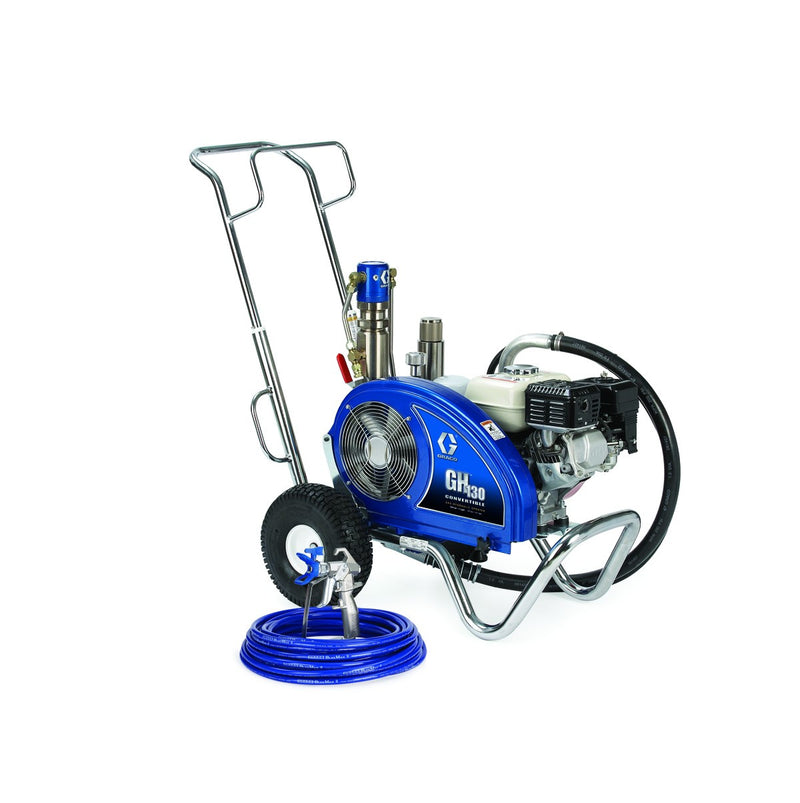 GRACO GH 130 Petrol Hydraulic Driven Airless Paint Sprayer 24W923