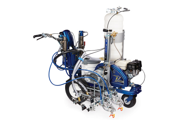 GRACO LineLazer V 200HS Airless Line Marker Petrol Hydraulic Driven Range 17H465 - HP Reflective 2 Auto Guns Beads