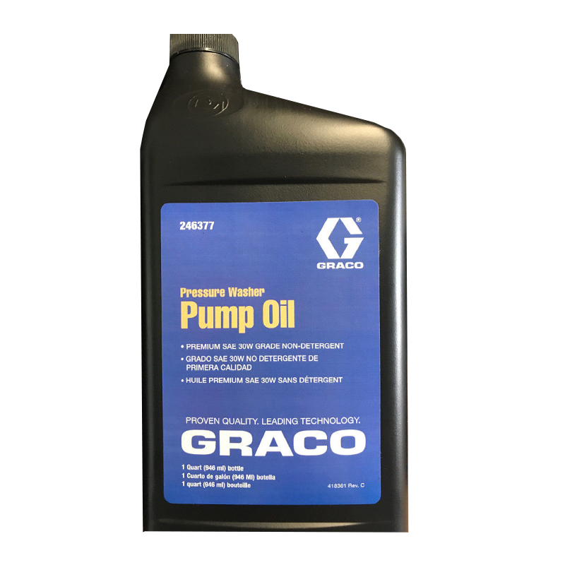 GRACO Pressure Washer Pump Oil 950ml Bottle 246377