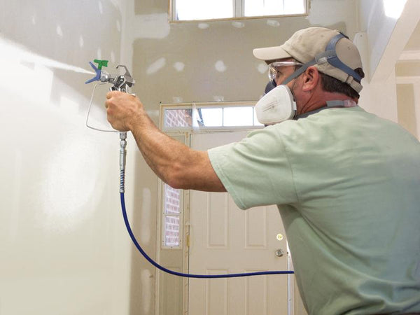 GRACO RAC X Low Pressure Tips Spraying Wall
