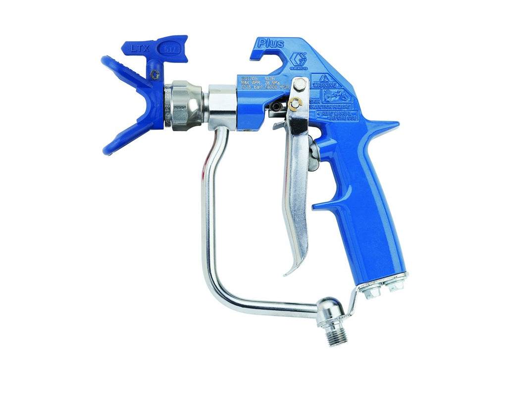 Aftermarket 5000PSI 4-Finger Blue HD Texture Airless Spray Gun 241705 with Guard