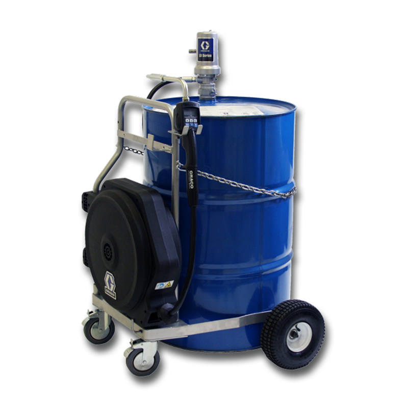 Graco LD Pump 5:1 Air Driven Cart Kit Range