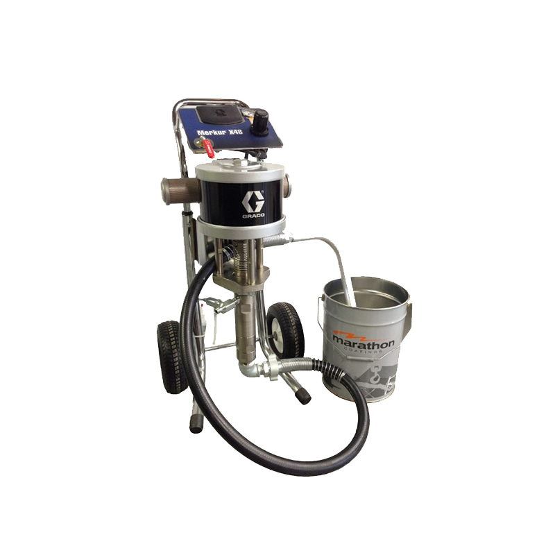 Graco Merkur Airless Sprayer Cart Mount Package Range