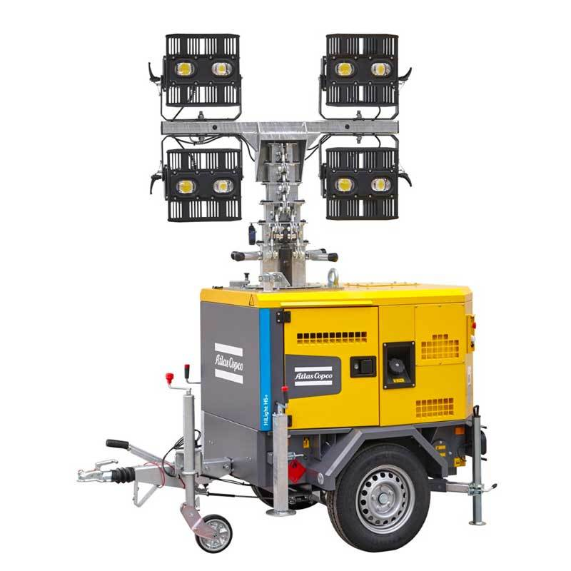Atlas Copco LED Light Tower HiLight H5+